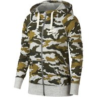 Nike Women's Gym Vintage Camo Full Zip Hoodie