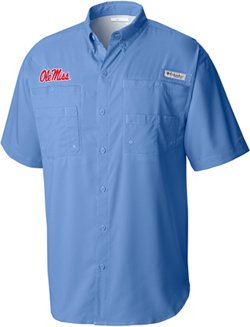 Columbia Sportswear Men's University of Mississippi Tamiami Shirt