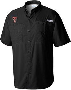 Columbia Sportswear Men's Texas Tech University Tamiami Shirt