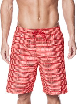 Men's 9 in Stripe Volley Short