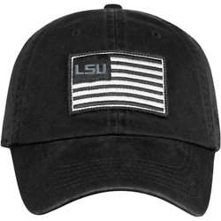 Men's Louisiana Tech University Flag4 Adjustable Cap