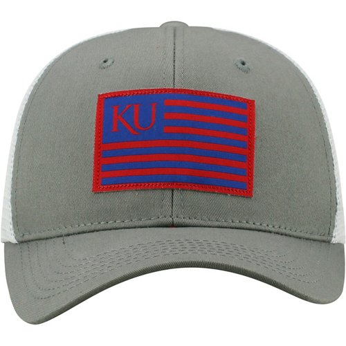 Top of the World Men's University of Kansas Brave Snapback Cap