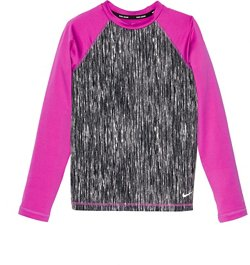 Nike Girls' Swim Long Sleeve Hydroguard