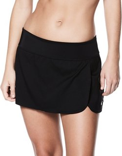 Nike Women's Solid Element Boardskirt Swim Bottoms