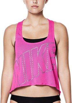 Nike Women's Swim Performance Crop Top Cover-Up