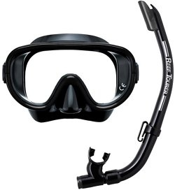 ReefTourer Adults' Single-Window Mask and Snorkel Set