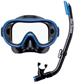 ReefTourer Youth Single-Window Mask and Snorkel Set