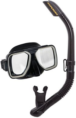 TUSA Adults' Liberator Mask and Snorkel Set