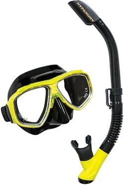 TUSA Adults' Splendive Mask and Snorkel Set