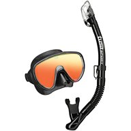 TUSA Adults' Serene Mirrored Mask and Dry Snorkel Set