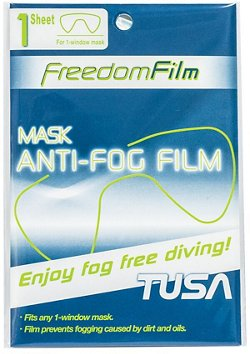 TUSA Antifog Freedom Film for Single-Window Masks
