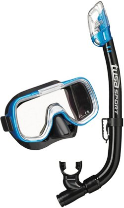 TUSA Youth Mini-Kleio Mask and Dry Snorkel Set