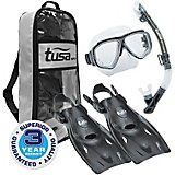 TUSA Sport Adults' Splendive Dry Snorkel Travel Set