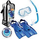 TUSA Kids' Mini-Kleio Hyperdry Snorkel Travel Set