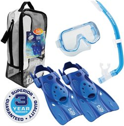 TUSA Kids' Mini-Kleio Hyperdry Snorkel Travel Set