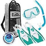 TUSA Youth Mini-Kleio Hyperdry Snorkel Travel Set