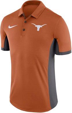 Nike Men's University of Texas Stadium Performance Polo Shirt