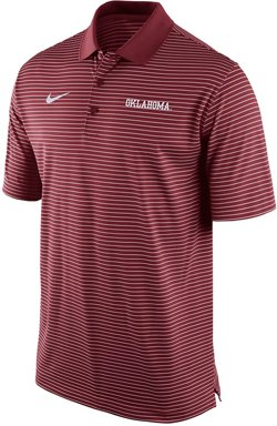 Nike Men's University of Oklahoma Stadium Perf Polo Shirt