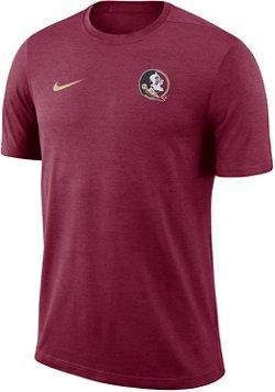 Nike Men's Florida State University Dri-Fit Coaches T-Shirt