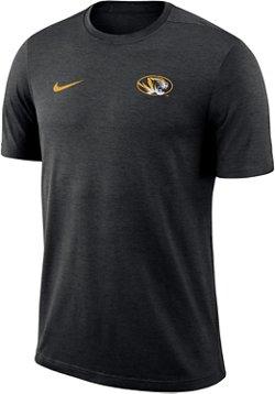 Nike Men's University of Missouri Dri-Fit Coaches T-Shirt
