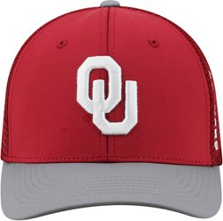 Top of the World Men's University of Oklahoma Chatter Flex Fit Cap