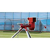 Heater Sports Real Ball Pitching Machine and 24 ft Xtender Batting Cage Combo