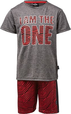 Spalding Toddler Boys' I Am the One T-shirt and Shorts Set