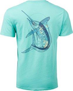 Magellan Outdoors Men's Geo Marlin T-shirt