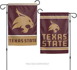 WinCraft Texas State University 2-Sided Garden Flag