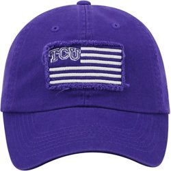 Men's Texas Christian University Flag4  Adjustable Cap