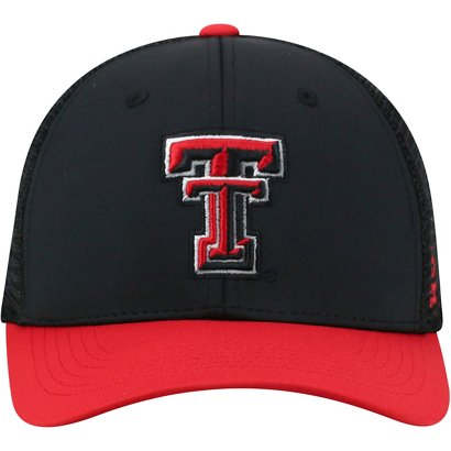 pretty nice b48e8 42bbe ... denmark top of the world mens texas tech university chatter flex fit cap  f56c7 f7f1a