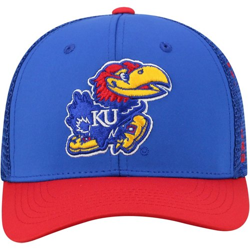 Top of the World Men's University of Kansas Chatter Flex Fit Cap