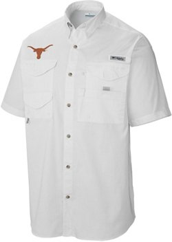 Columbia Sportswear Men's University of Texas Tamiami Button Down Shirt