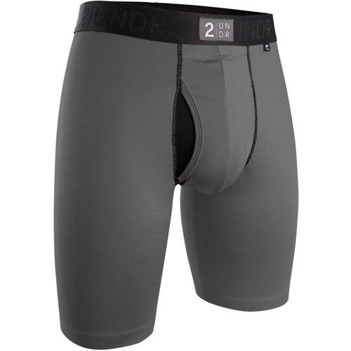 2UNDR Men's Power Shift 9 in Long Leg Boxer Briefs
