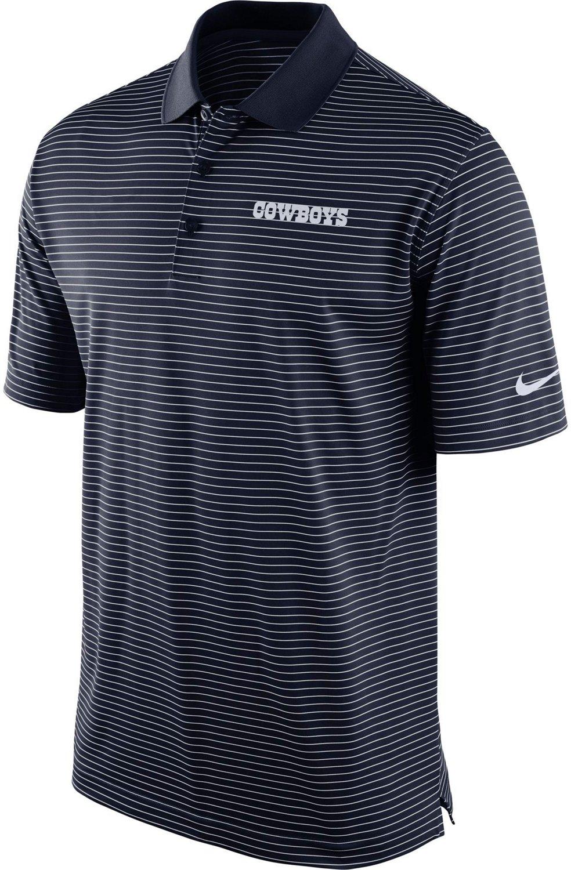 ec19d12c Nike Men's Dallas Cowboys Striped Dri-FIT Polo Shirt   Academy