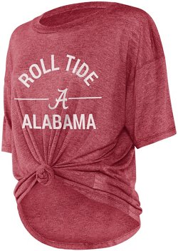 Women's University of Alabama Boyfriend Knot T-shirt