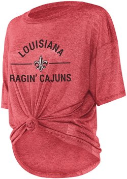 Women's University of Louisiana at Lafayette Boyfriend Knot T-shirt
