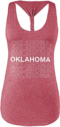 Women's University of Oklahoma Braided Tank Top
