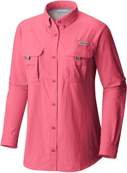 Columbia Sportswear Women's PFG Bahama Plus Size Long Sleeve Shirt