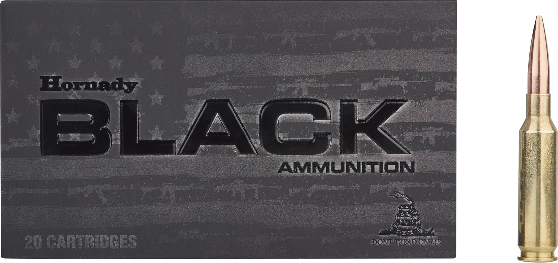 Hornady Black 6.5mm Creedmoor BTHP 140-Grain Rifle Ammunition - view number 1