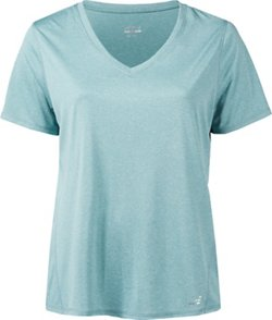 Women's Turbo Plus Size V-neck Short Sleeve T-shirt