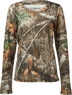 Women's Eagle Pass Long Sleeve Mesh Shirt