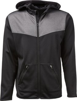BCG Men's Performance Fleece Athletic Jacket
