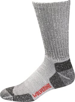 Wolverine Safety Toe Moisture Wicking Work Socks 2 Pack