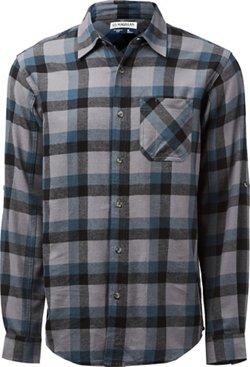 Men's Hickory Canyon Long Sleeve Plaid Shirt