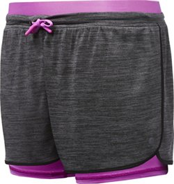 Layer 8 Girls' 2-Fer Knit Shorts