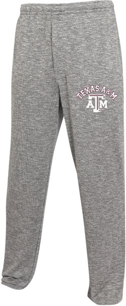 College Concept Men's Texas A&M University Layover Sweaterknit Pants