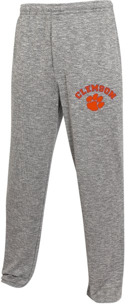 College Concept Men's Clemson University Layover Sweaterknit Pants