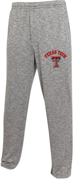 College Concept Men's Texas Tech University Layover Sweaterknit Pants