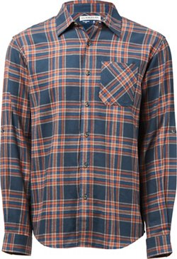 Magellan Outdoors Men's Hickory Canyon Long Sleeve Plaid Shirt